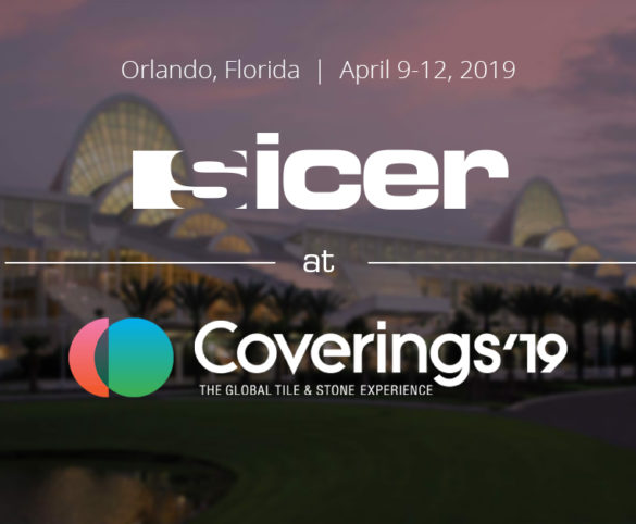 Sicer will be at Coverings 2019.