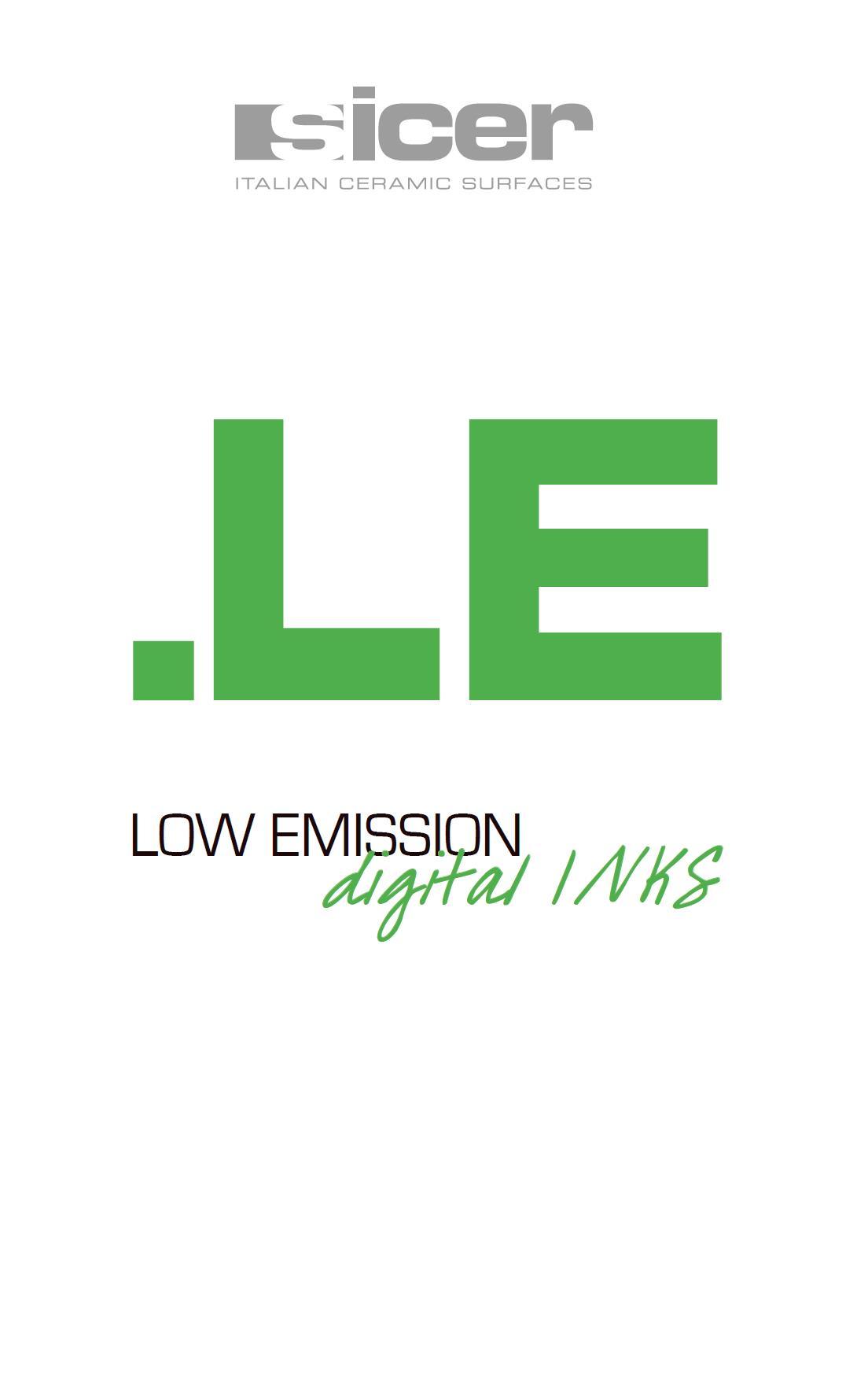 .LE series - Innovative ECO solvent-based ceramic inks.