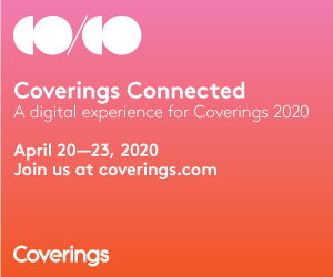 Coverings Connected, a new digital experience.