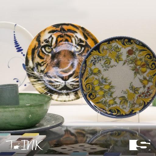 Digital decoration for tableware T-INK